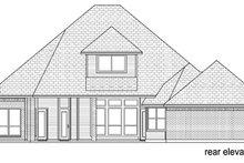 Traditional Exterior - Rear Elevation Plan #84-557