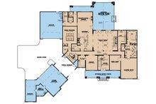 Country Floor Plan - Main Floor Plan Plan #923-42