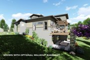 Modern Style House Plan - 4 Beds 3.5 Baths 2779 Sq/Ft Plan #1069-9 Exterior - Other Elevation