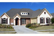 Dream House Plan - European Exterior - Front Elevation Plan #84-380