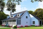 Farmhouse Style House Plan - 5 Beds 3 Baths 2860 Sq/Ft Plan #923-106 Exterior - Other Elevation