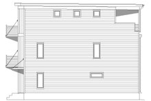 Architectural House Design - Contemporary Exterior - Other Elevation Plan #932-319