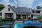 Farmhouse Style House Plan - 3 Beds 2.5 Baths 1742 Sq/Ft Plan #120-270 Exterior - Rear Elevation