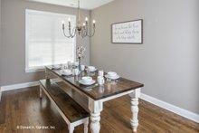 Architectural House Design - Craftsman Interior - Dining Room Plan #929-428