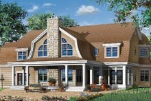 Architectural House Design - Traditional Exterior - Rear Elevation Plan #23-584