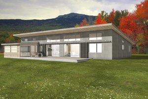 Modern, Front elevation