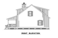 Home Plan - Farmhouse Exterior - Other Elevation Plan #17-2019
