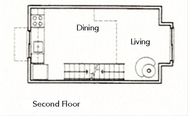 Modern Floor Plan - Main Floor Plan Plan #511-3