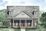 Traditional Style House Plan - 2 Beds 2 Baths 1721 Sq/Ft Plan #17-2422 Exterior - Other Elevation