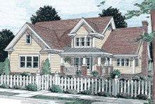 Craftsman Exterior - Front Elevation Plan #20-355