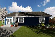 Home Plan - Ranch Exterior - Rear Elevation Plan #1060-41