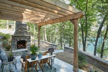 Country Exterior - Outdoor Living Plan #928-333