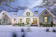 Farmhouse Style House Plan - 3 Beds 2.5 Baths 1742 Sq/Ft Plan #120-270 Exterior - Front Elevation