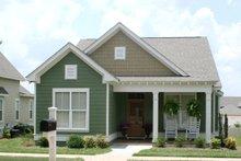 Cottage Exterior - Front Elevation Plan #430-64