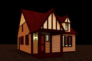 Craftsman Exterior - Front Elevation Plan #917-35