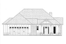 Architectural House Design - Craftsman Exterior - Front Elevation Plan #437-113