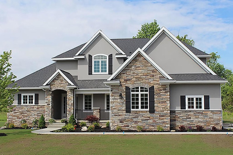 Traditional Exterior - Front Elevation Plan #20-2126 - Houseplans.com