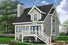 Traditional Exterior - Rear Elevation Plan #23-663
