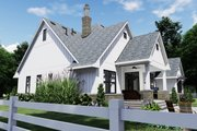 Farmhouse Style House Plan - 4 Beds 4 Baths 2191 Sq/Ft Plan #120-259 Exterior - Other Elevation