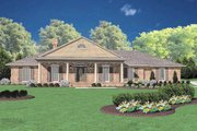 Southern Style House Plan - 3 Beds 2.5 Baths 2183 Sq/Ft Plan #36-192 Exterior - Front Elevation
