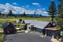 House Plan Design - Contemporary Exterior - Front Elevation Plan #892-21
