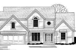 Traditional Exterior - Front Elevation Plan #67-134