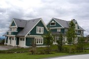 Colonial Style House Plan - 6 Beds 5 Baths 5180 Sq/Ft Plan #48-151 Exterior - Other Elevation