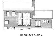 House Plan Design - Traditional Exterior - Rear Elevation Plan #22-203