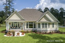 House Plan Design - Craftsman Exterior - Rear Elevation Plan #929-824