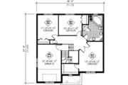 Traditional Style House Plan - 3 Beds 1.5 Baths 2240 Sq/Ft Plan #25-4254 Floor Plan - Upper Floor Plan