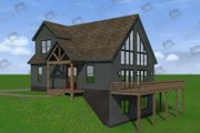 Cabin Style House Plan - 4 Beds 3 Baths 1736 Sq/Ft Plan #932-250
