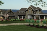 Craftsman Style House Plan - 4 Beds 4 Baths 3349 Sq/Ft Plan #120-173 Photo