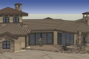 Craftsman Style House Plan - 3 Beds 3.5 Baths 3579 Sq/Ft Plan #892-6 Exterior - Front Elevation