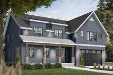 House Plan Design - Farmhouse Exterior - Front Elevation Plan #23-2686