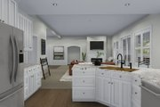 Traditional Style House Plan - 4 Beds 3.5 Baths 5212 Sq/Ft Plan #1060-69 Interior - Kitchen