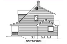 Farmhouse Exterior - Other Elevation Plan #22-507