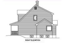Architectural House Design - Farmhouse Exterior - Other Elevation Plan #22-507