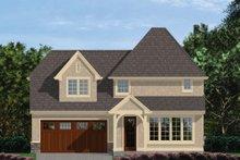Dream House Plan - European Exterior - Rear Elevation Plan #48-558