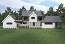 Architectural House Design - Farmhouse Exterior - Rear Elevation Plan #1070-106