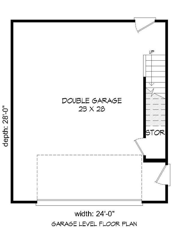 Colonial Floor Plan - Main Floor Plan Plan #932-131