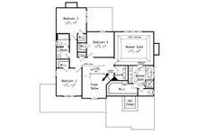 Craftsman Floor Plan - Upper Floor Plan Plan #927-1