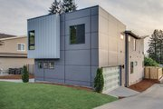 Contemporary Style House Plan - 5 Beds 3 Baths 3104 Sq/Ft Plan #132-228 Exterior - Other Elevation