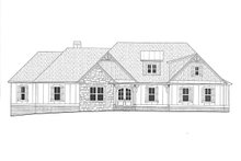 Architectural House Design - Craftsman Exterior - Front Elevation Plan #437-115