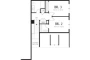 Traditional Style House Plan - 3 Beds 2.5 Baths 1761 Sq/Ft Plan #48-568 Floor Plan - Upper Floor Plan