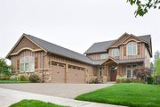 Craftsman Style House Plan - 6 Beds 3.5 Baths 3254 Sq/Ft Plan #48-345 Exterior - Front Elevation