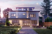 Contemporary Style House Plan - 5 Beds 4 Baths 4329 Sq/Ft Plan #1066-113 Exterior - Other Elevation
