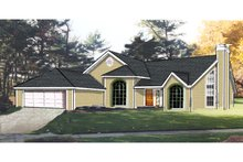 Dream House Plan - Traditional Exterior - Front Elevation Plan #3-151