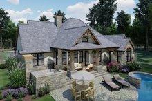 House Design - Craftsman Exterior - Rear Elevation Plan #120-171
