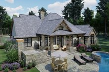 Home Plan - Craftsman Exterior - Rear Elevation Plan #120-171