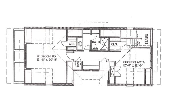 Mediterranean Floor Plan - Other Floor Plan Plan #536-6